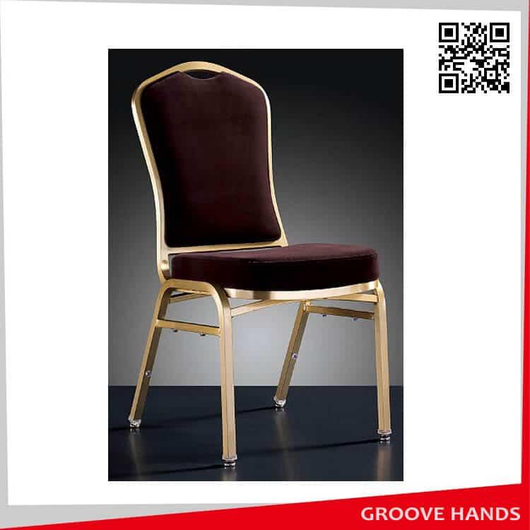 Pleasant Aluminum Gray Gold Diamond Banquet Chair Bc2025 Creativecarmelina Interior Chair Design Creativecarmelinacom