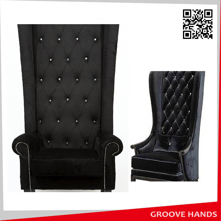 Luxury High Back Chair Square Back Chinabanquetchair Com