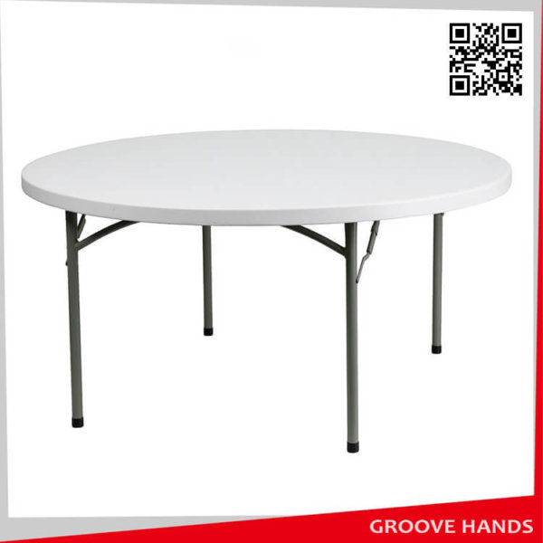 72 39 39 round white plastic folding table 10 people for 10 person round table