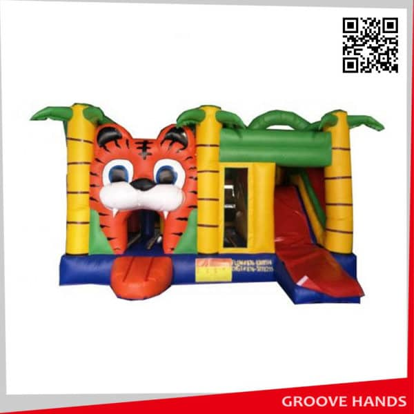 Commercial Tiger Inflatable House for Kids (NL002)