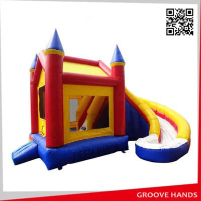 Inflatable Bounce House Combo with Slide (B019)