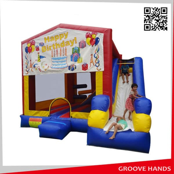 Inflatable Jumping Bouncy Castle House for Celebrate Kids Birthday (NL185)